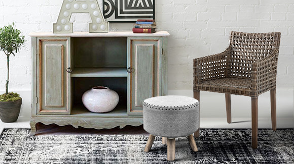 Rattan Chic & Metal Luxe