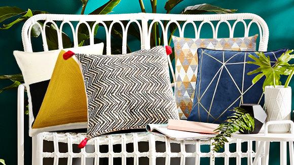 An Array of Cushions