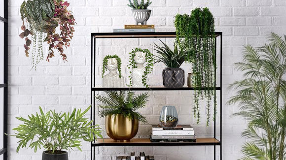 Faux Plant Display