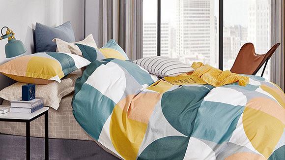 Soft Pattern Bedroom Detail
