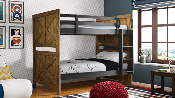 Sturdy & Sleek Childrens Beds