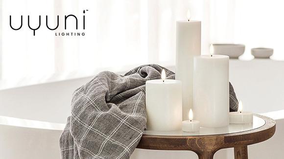 Uyuni Flameless Candles