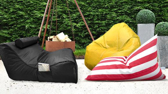 Colourful Bean Bags
