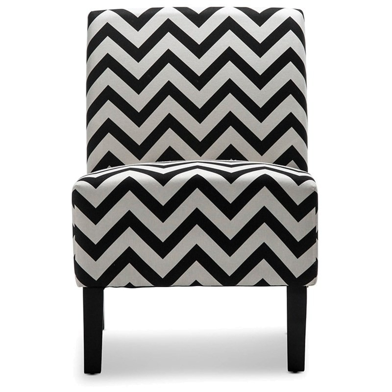 Swell Layton Chevron Fabric Accent Armchair Ocoug Best Dining Table And Chair Ideas Images Ocougorg