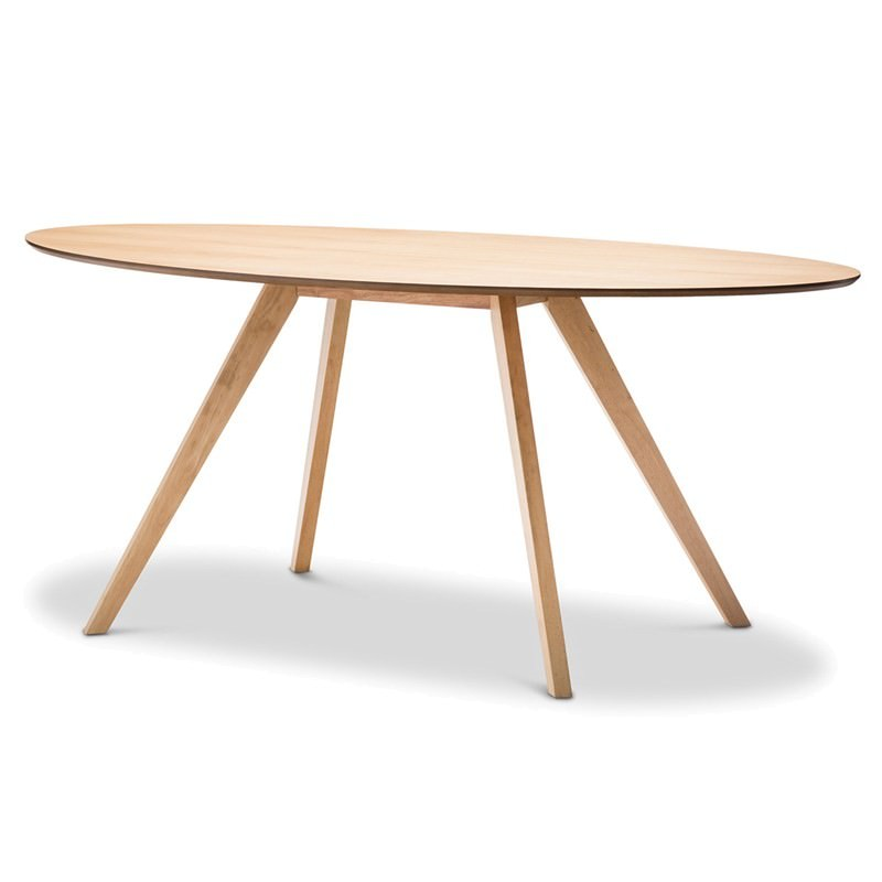 Carol Wooden 180cm Oval Dining Table Natural Oak : 41 0542 from www.livingstyles.com.au size 800 x 800 jpeg 35kB