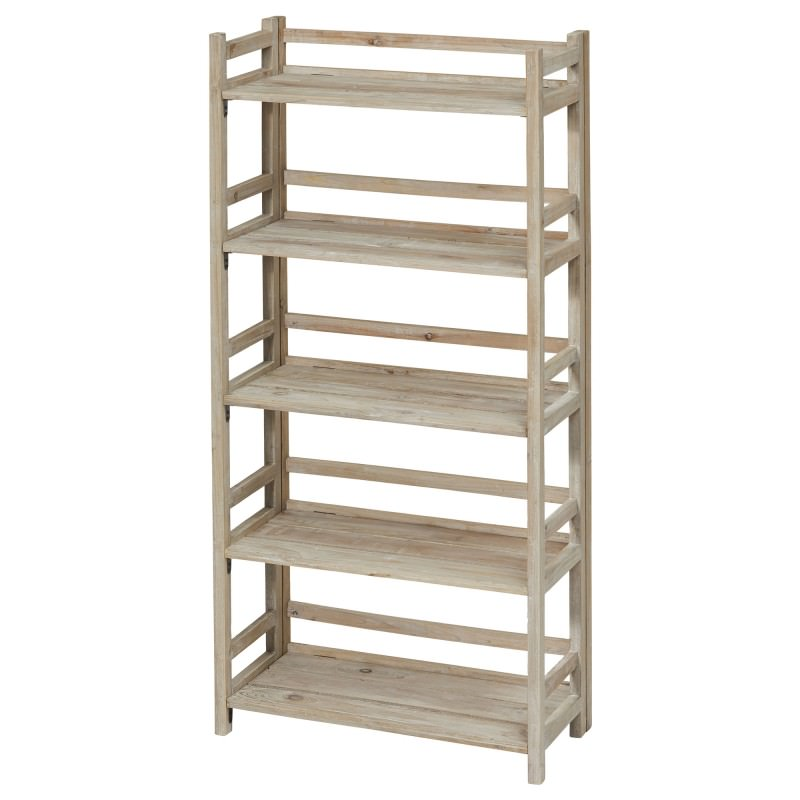 buy online 106fc 12974 Monterey Solid Timber 5 Tier Shelving Unit