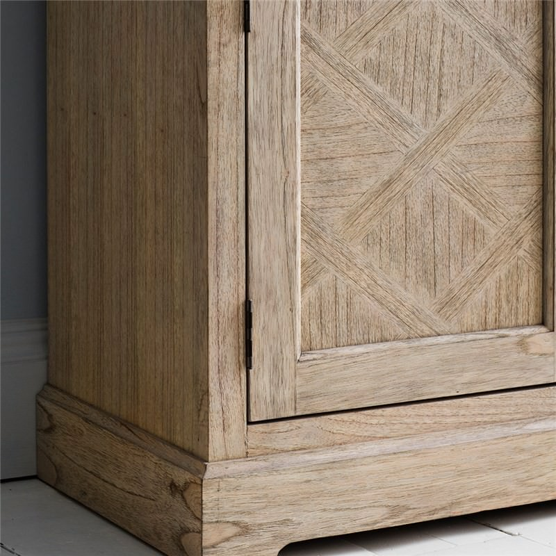 Mustique Solid Mindi Wood Sideboard