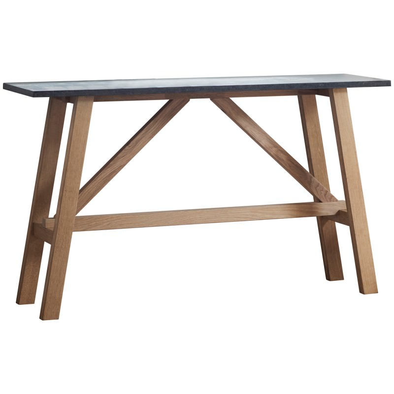 check out 3623c 5ec88 Bevie Resin & Oak Timber Console Table