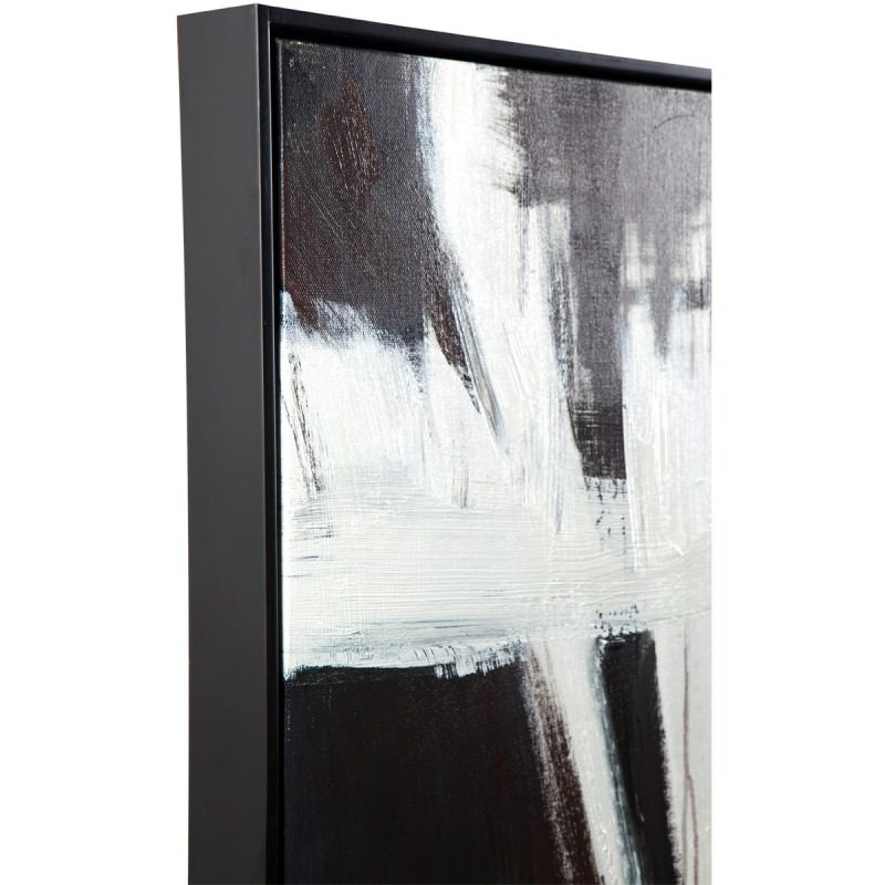 Black Magic Framed Canvas Painting Wall Art, 150cm