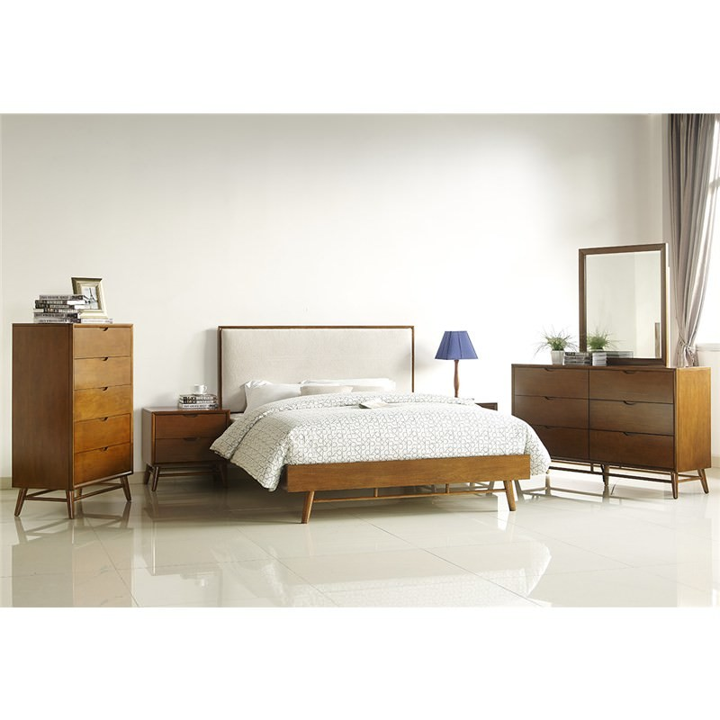 938eb20952ff Betty Solid Timber 6 Drawer Dresser with Mirror