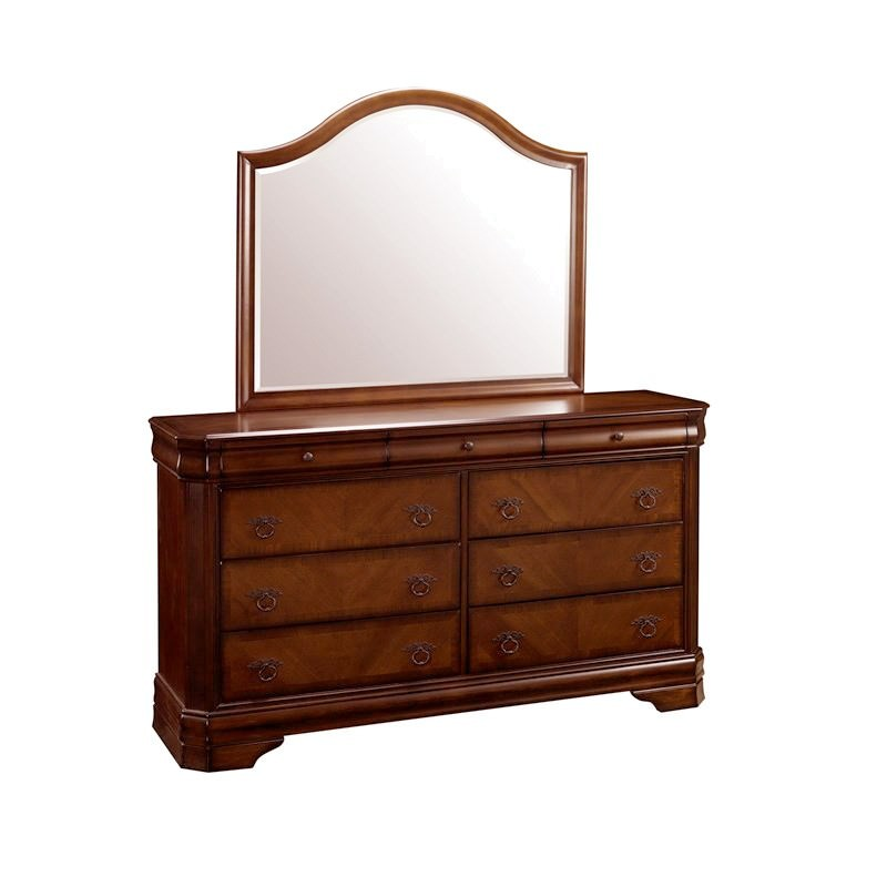 Sherwood Solid American Poplar Timber Dressing Table With