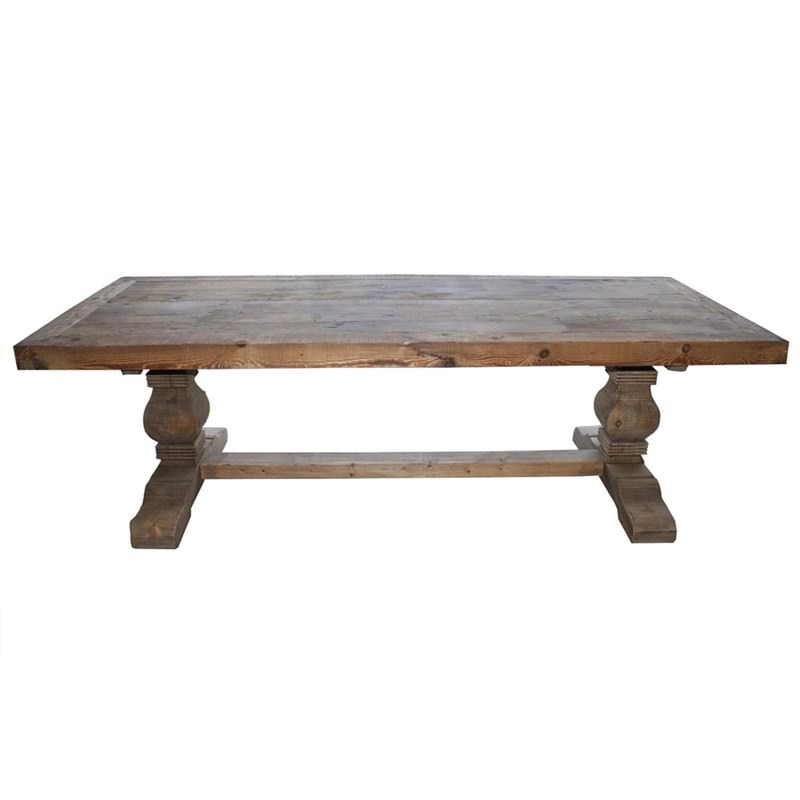 Marlow Recycled Pine Timber 300cm Dining Table