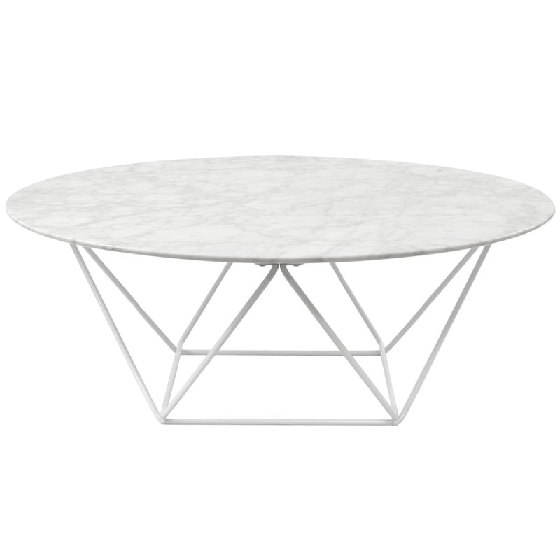 Phenomenal Owen Marble Metal Round Coffee Table 100Cm White Base Andrewgaddart Wooden Chair Designs For Living Room Andrewgaddartcom