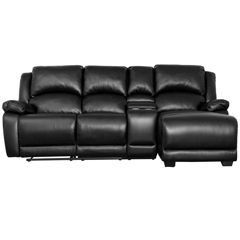 Chazon Fabric 2 Seater Sofa With Right Hand Facing Chaise