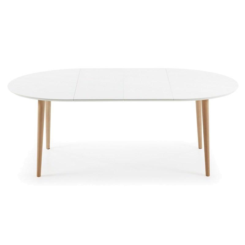 Dallington 120 200cm Extendable Oval Dining Table White  : EC305L333 from www.livingstyles.com.au size 800 x 800 jpeg 22kB