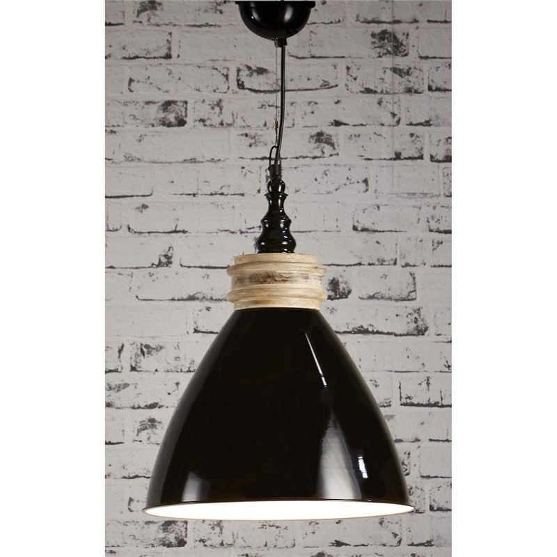 Sardinia Metal Pendant Light Black