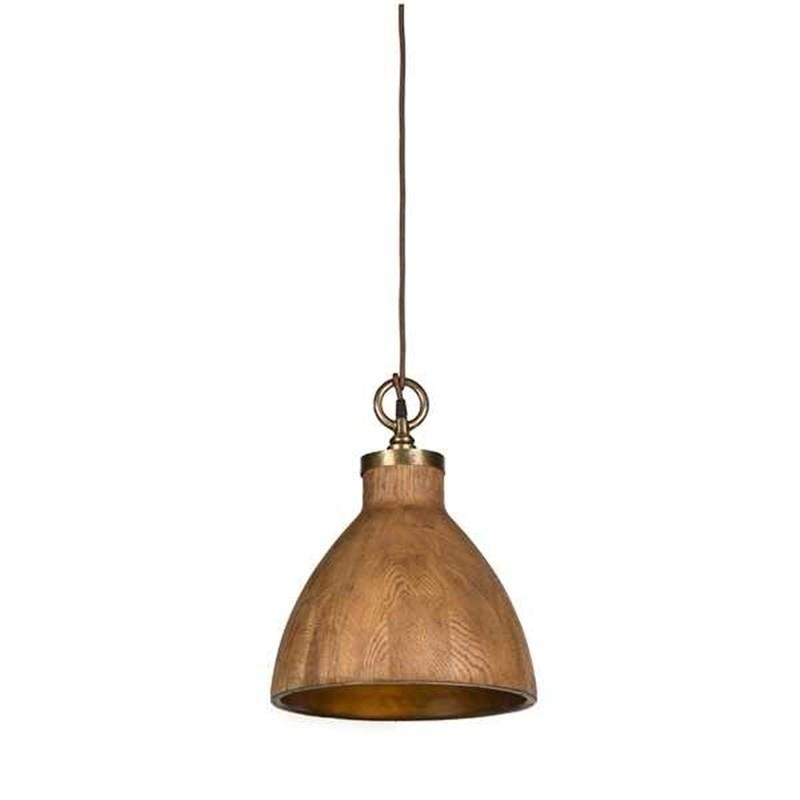 Big Sur Timber Pendant Light Medium