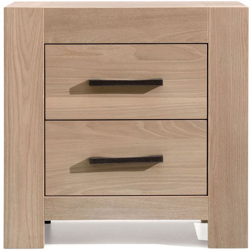 Cambridge Solid Mountain Ash Timber Bedside Table