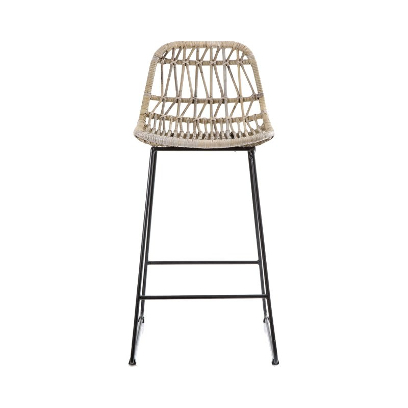 Stupendous Comores Rattan Metal Counter Stool Pabps2019 Chair Design Images Pabps2019Com
