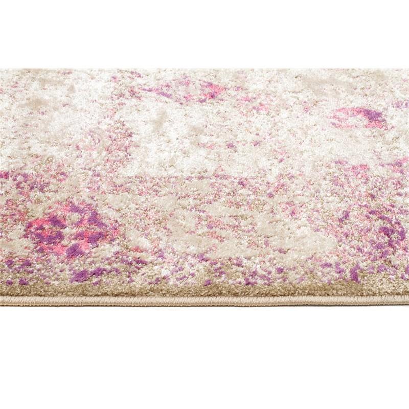 Aisha Vintage Ziegler Rug In Pink/Beige
