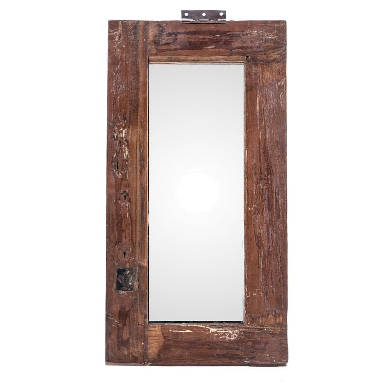 Recycled old window frame mirror for Recycled window frames