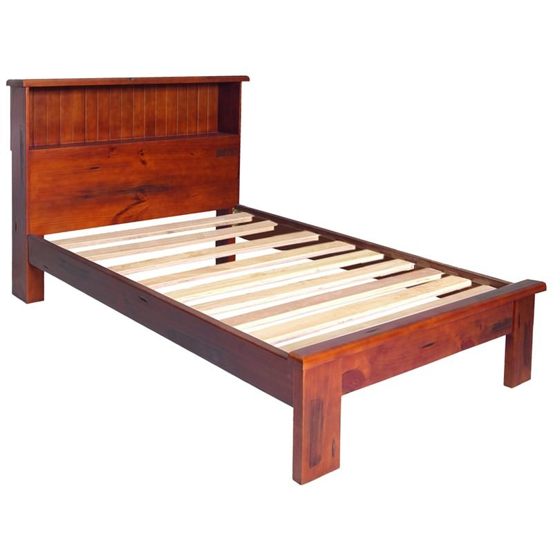 Katoomba Solid Pine Timber King Single Bed