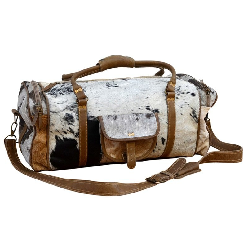 Kymbly Cowhide Overnight Bag