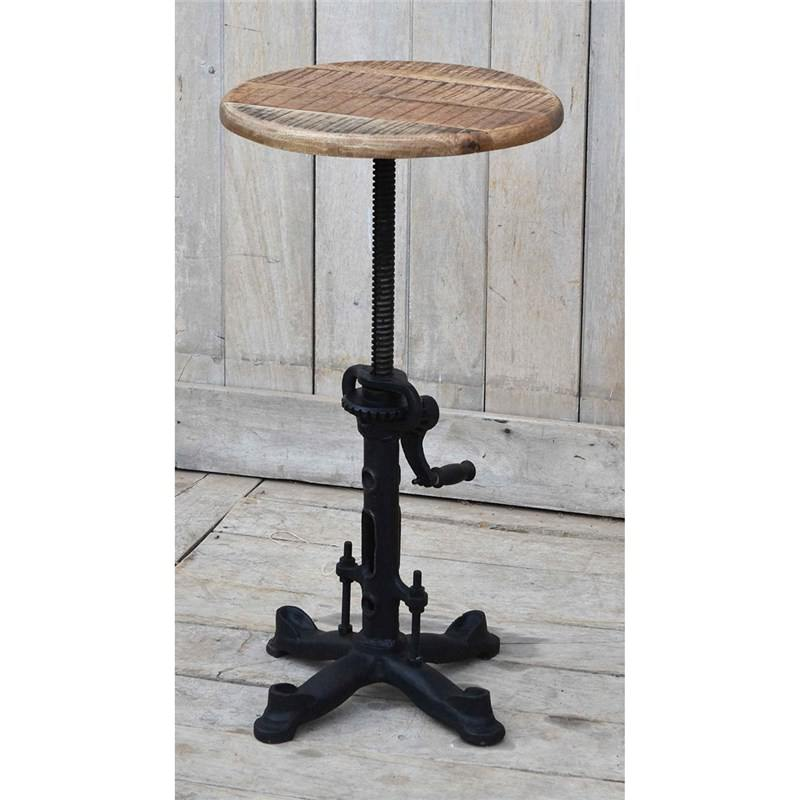 Fitzroy Industrial Cast Iron Wind Up Adjustable Counter