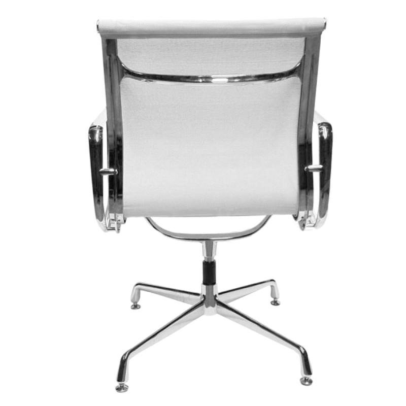 Replica Eames Aluminium Group Side Chair Elastomeric Mesh
