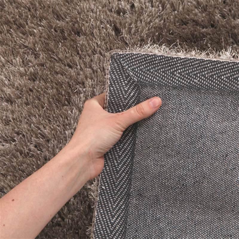 Plush Stone Rug: Plush Luxury Shag Rug In Stone