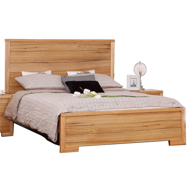 Seawind Solid Messmate Timber King Bed
