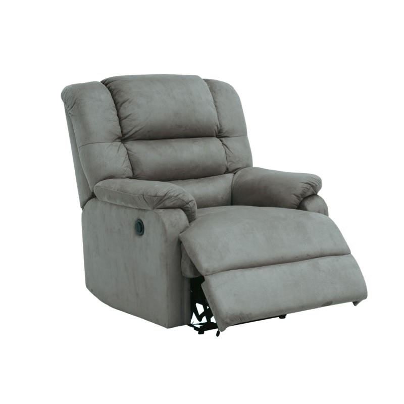 Elmo Fabric Electric Recliner Lounge Armchair, Storm