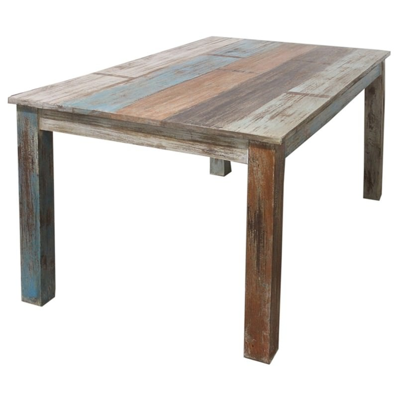 timeless design 47209 eabd3 Grafton Distressed Solid Timber 160cm Dining Table
