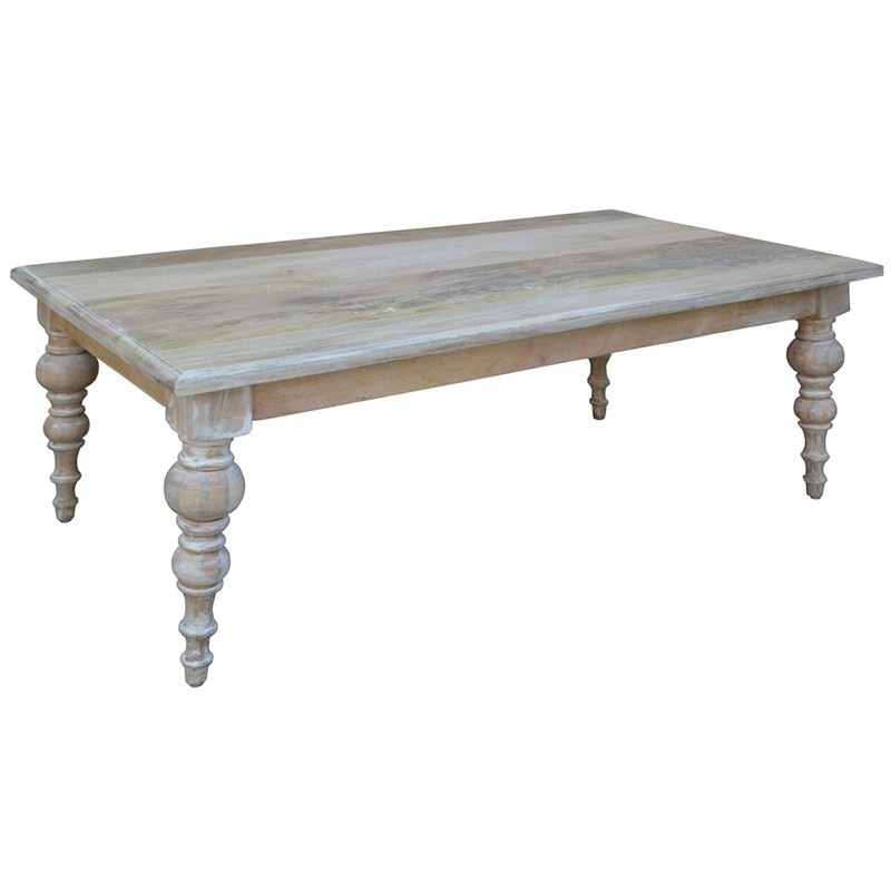 Consuelo Solid Mango Wood Timber Coffee Table