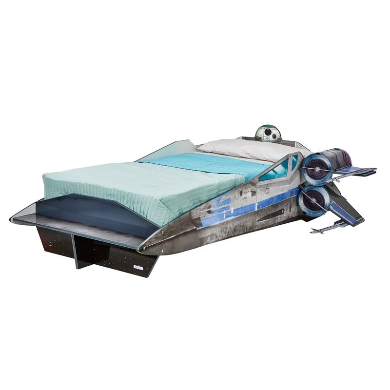 Worlds Apart Star Wars X Wing Spacecraft Single Bed