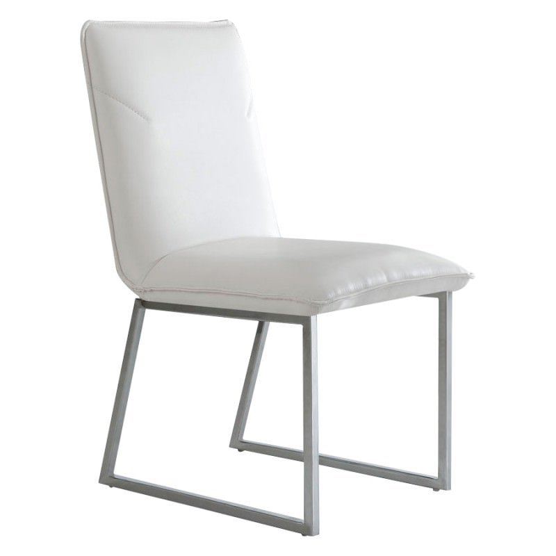 Excellent Vico Pu Leather Dining Chair Sleigh Leg Spiritservingveterans Wood Chair Design Ideas Spiritservingveteransorg