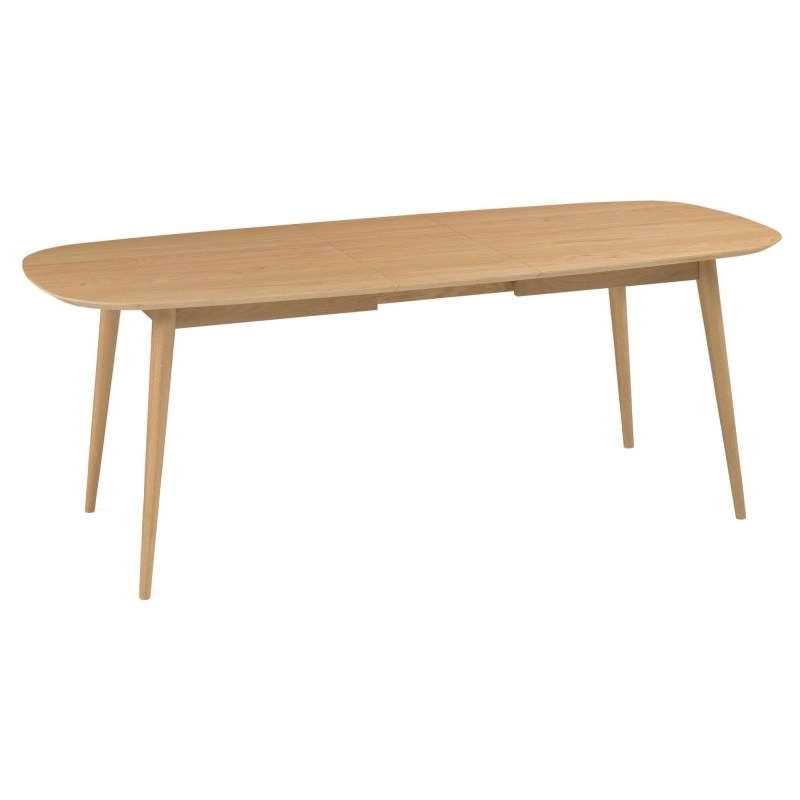 Heidal Scandinavian Extendable Dining Table 175cm 215cm Oak : dt780 vn1 from www.livingstyles.com.au size 800 x 800 jpeg 29kB