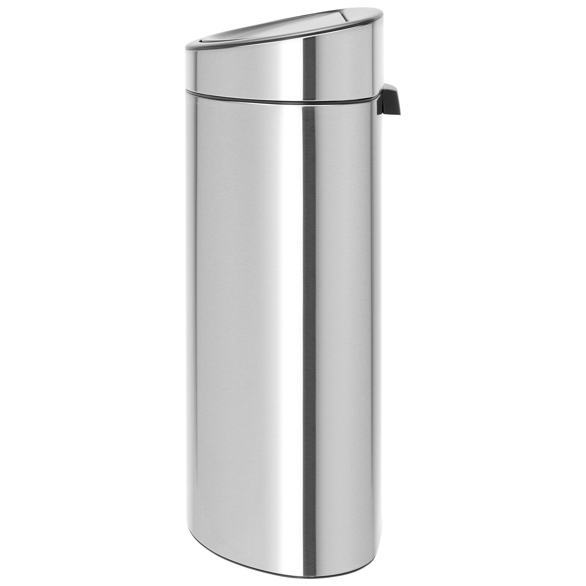 Brabantia Touch Bin New, 40L, Matt Steel