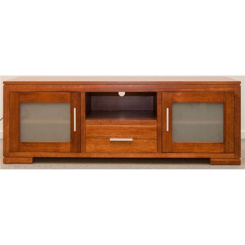 Vic Ash 2 Door - 1 Drawer TV Unit
