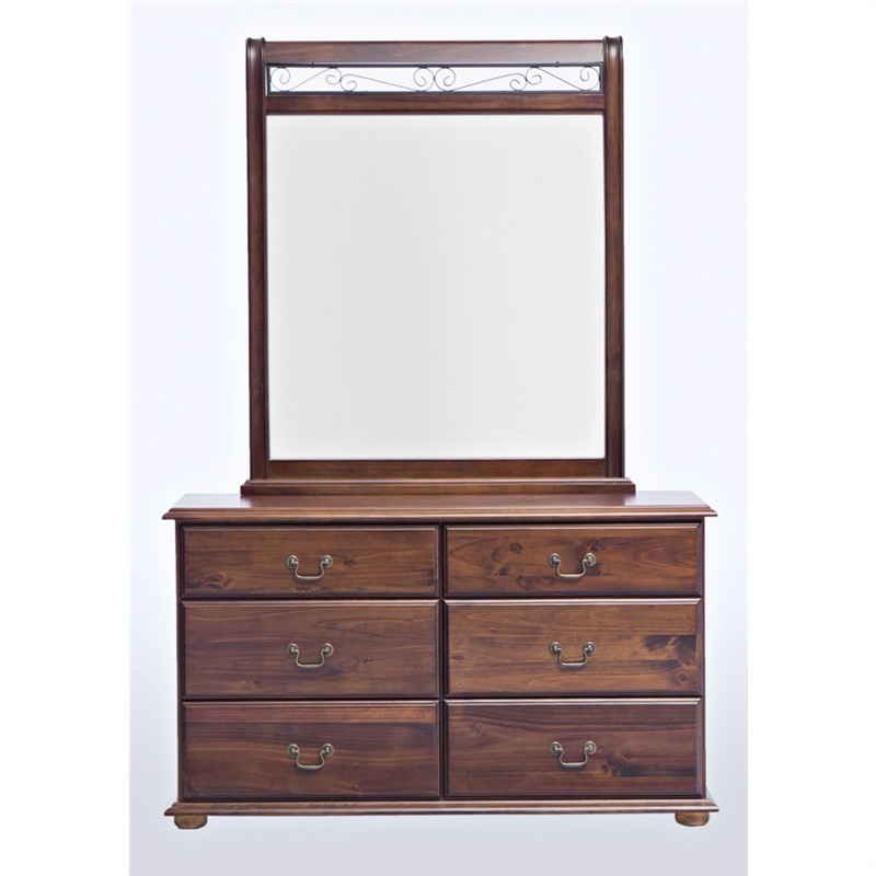 Oakley Dressing Table with Mirror