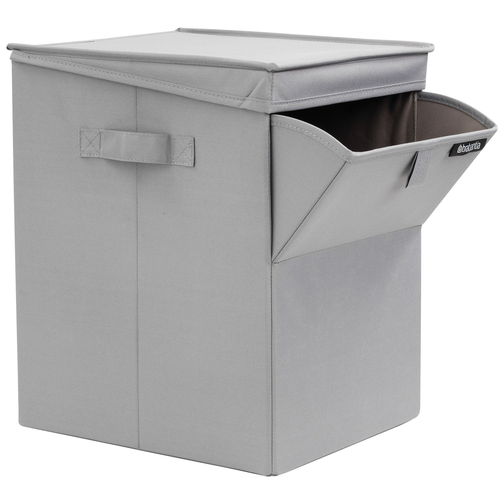 Brabantia Fabric Stackable Laundry Box, 35L, Grey