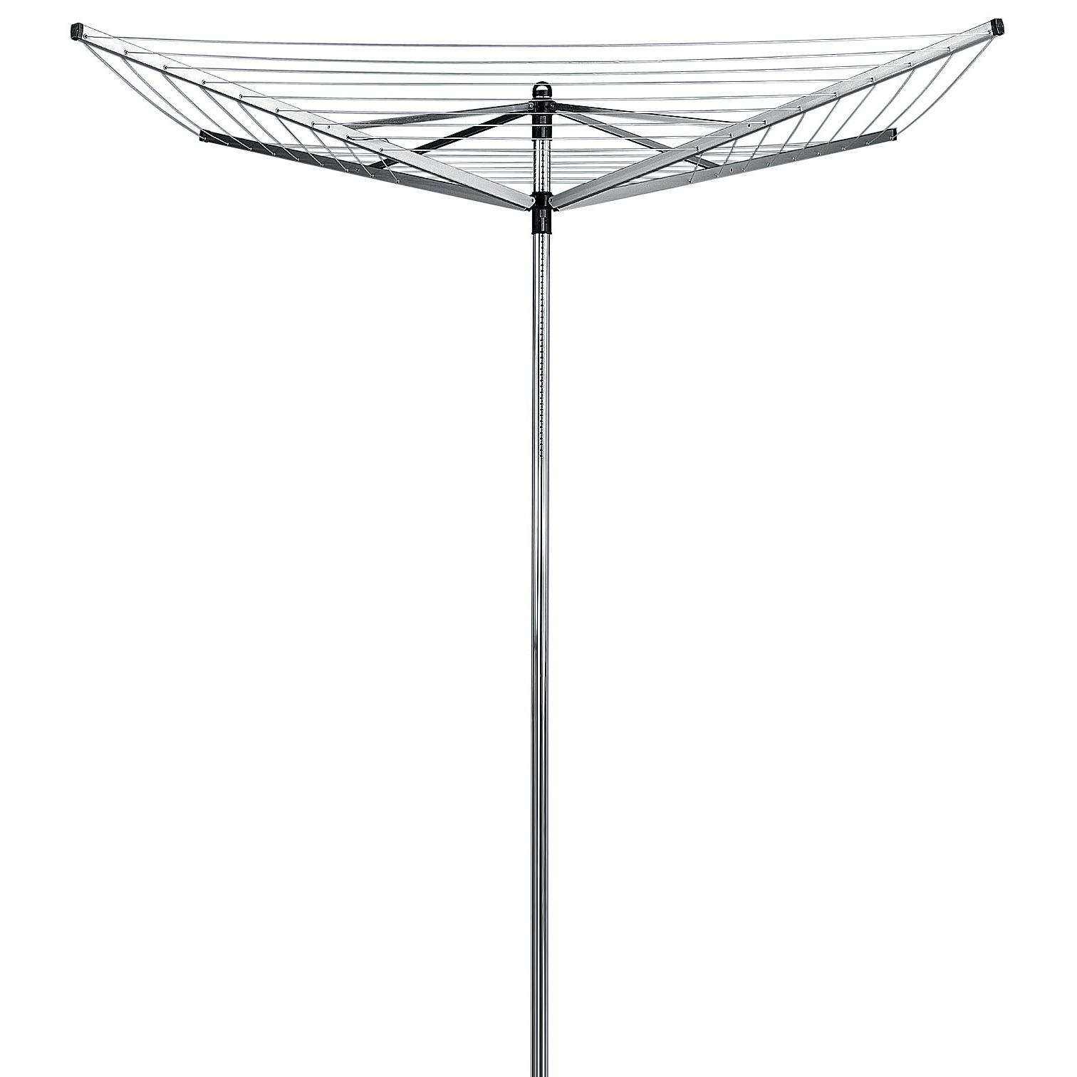 Brabantia Lift-O-Matic Rotary Clothes Line Dryer, 4 Arm / 60m