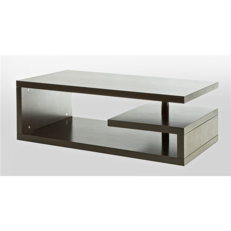 Rectangular G-shaped Coffee Table