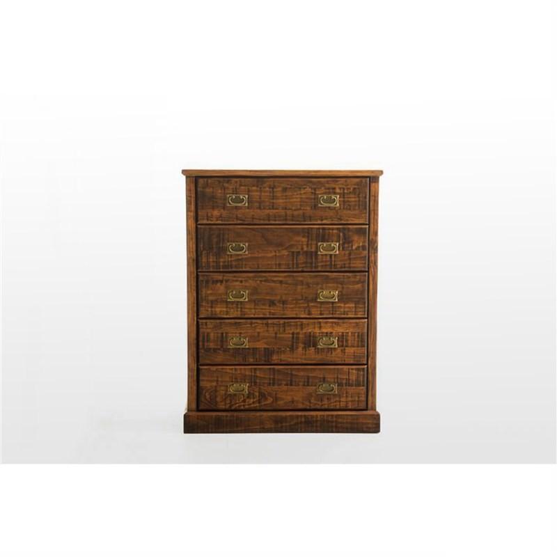 Royal Solid Pine Wood Tallboy