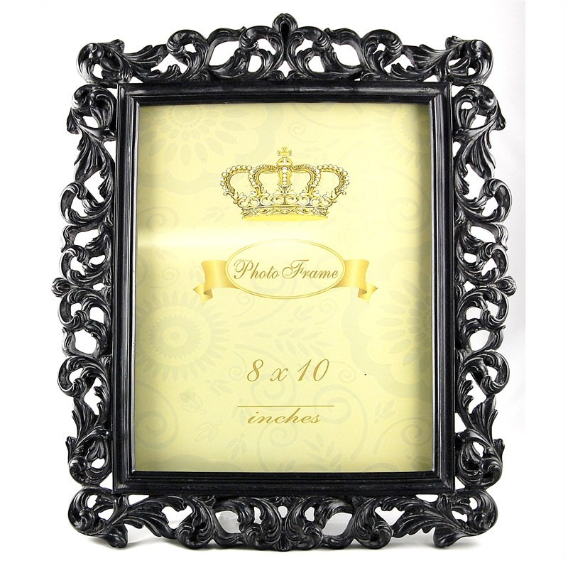 Black Antique Look Photo Frame ( 8''X10'')