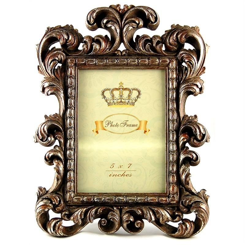 Antique Brass Look Photo Frame ( 5''X7'')
