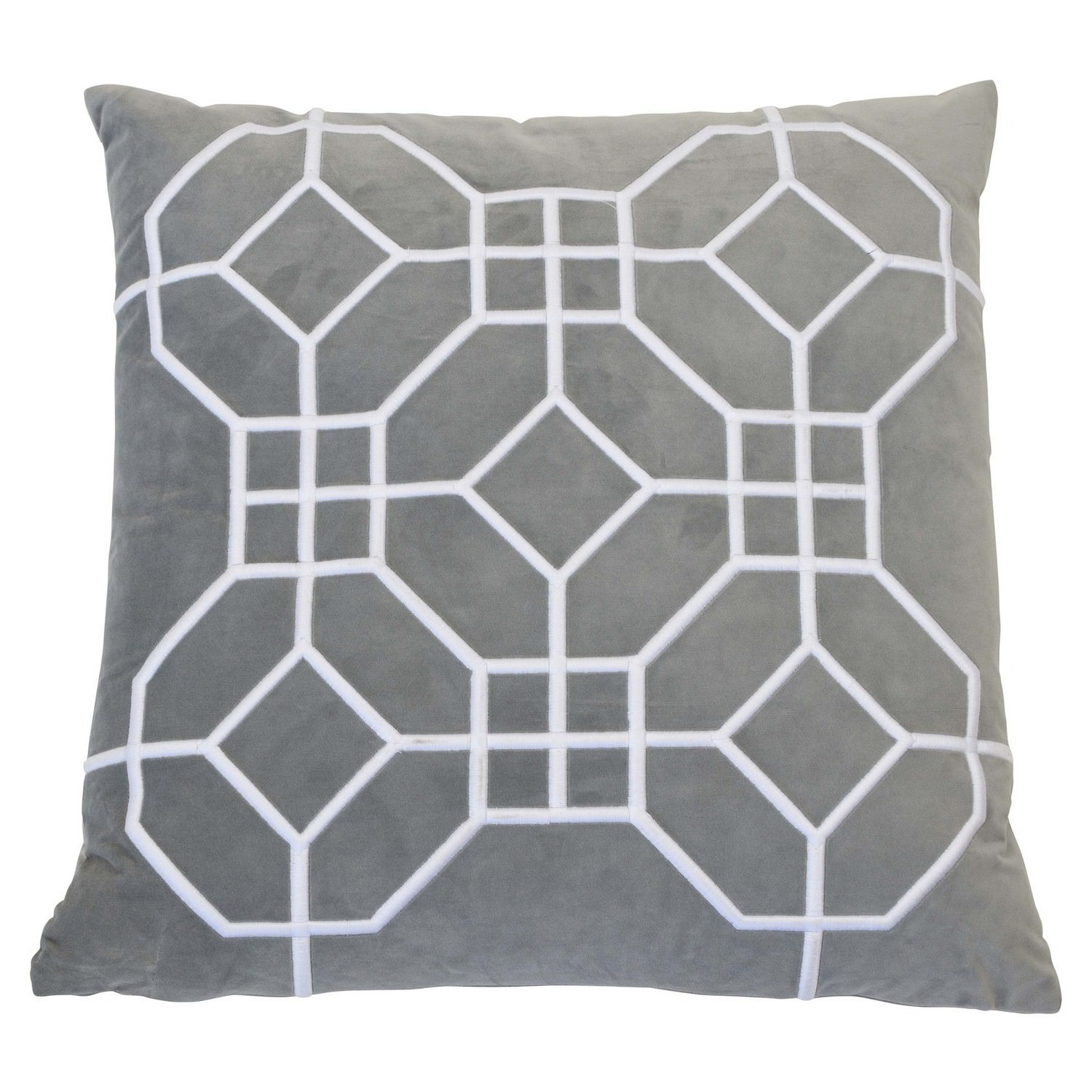 San Diego Velvet Scatter Cushion Cover, Grey