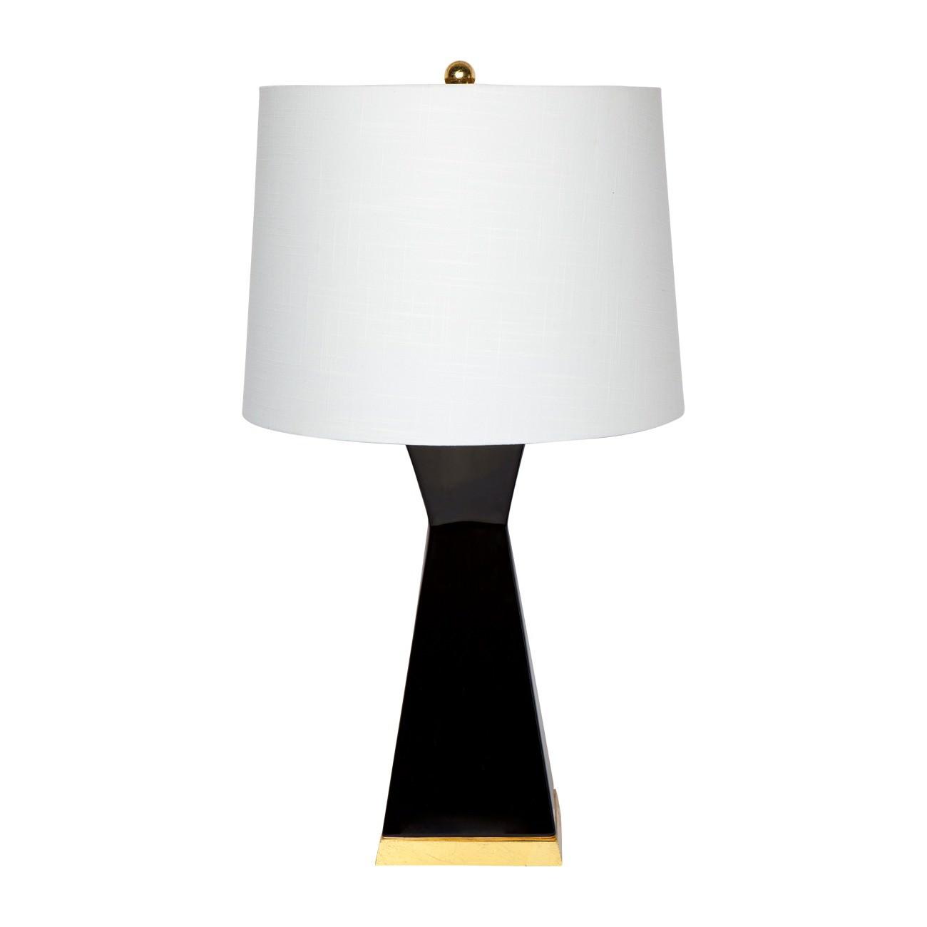 Douglas Ceramic Table Lamp, Black