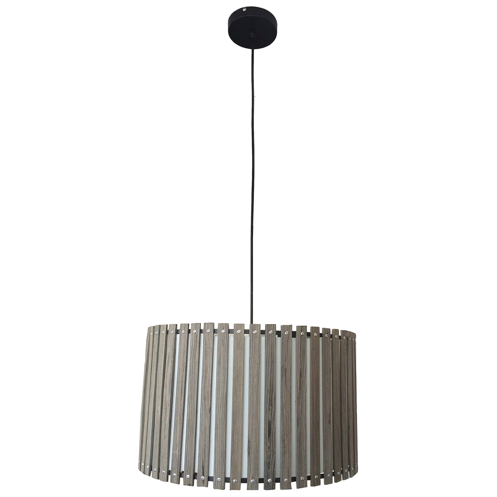 Marsden Wood Slat Shade Pendant Light