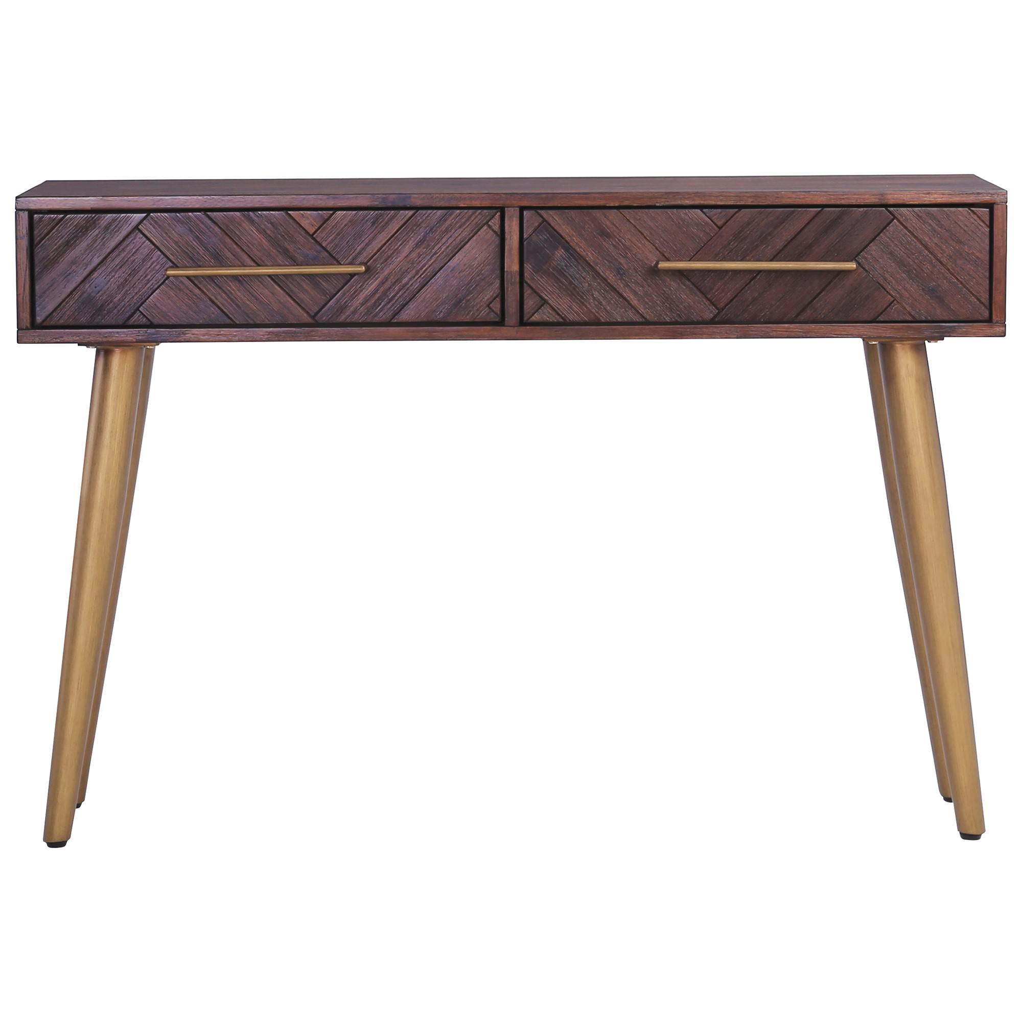 Sivan Acacia Timber Console Table, 120cm